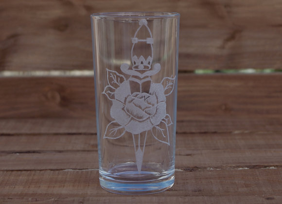 Rose And Dagger Glass