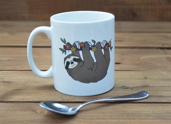Hanging sloth mug