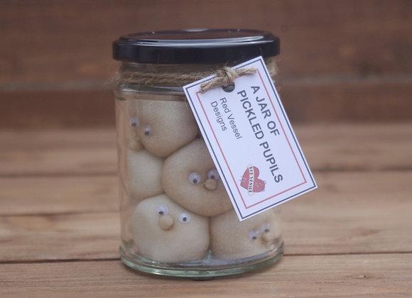 Jar of pickled pupils