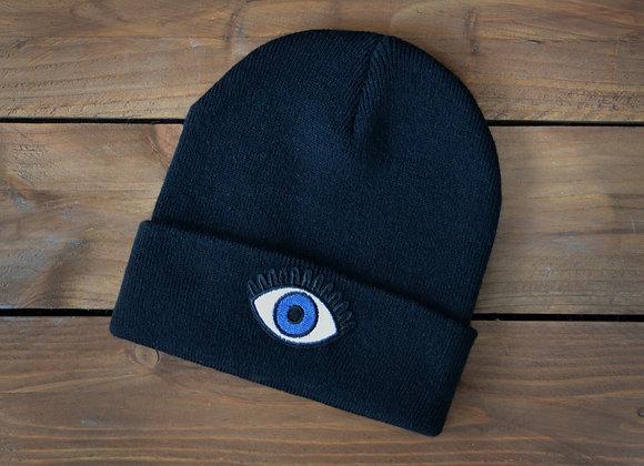 Evil Eye Beanie Hat