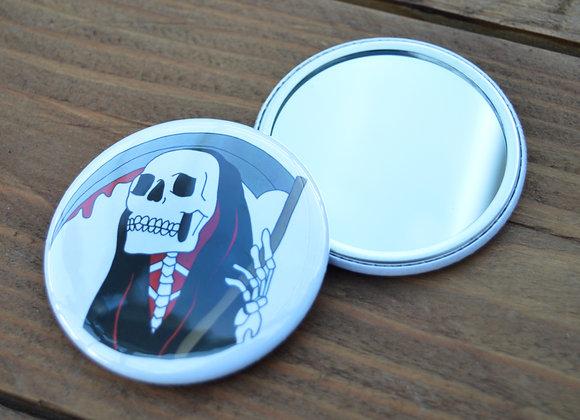 Grim Reaper Pocket Mirror