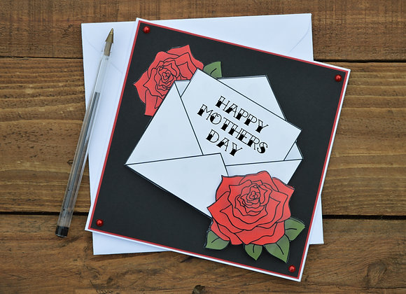 Mothers Day Tattoo Greetings Card