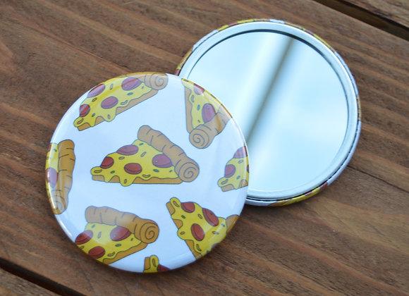 Pizza pocket mirror