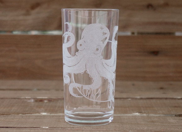 Octopus glass