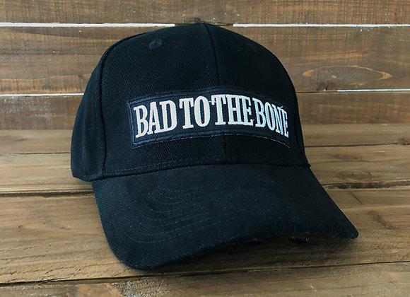 Bad to the bone baseball cap