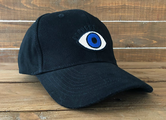 evil eye baseball cap