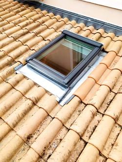 entreprise pose de velux fenêtre de toit