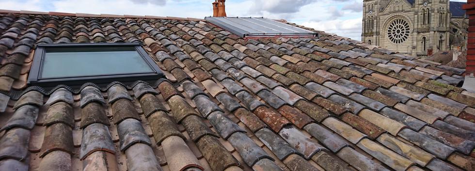 Nettoyage de toiture- les Couvreurs de B