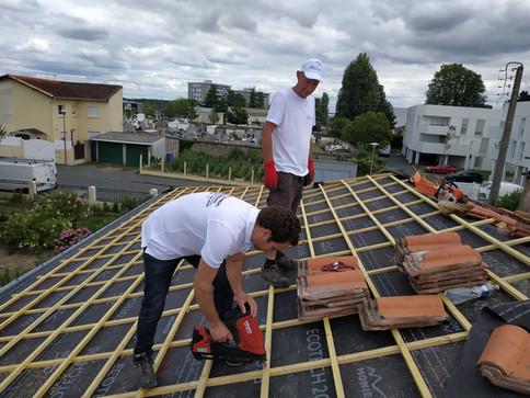 Rénovation de toiture - Lormont