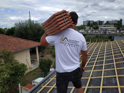 Renovation de toiture - Lormont