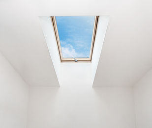 installation, fenêtres de toit, velux, design minimalist