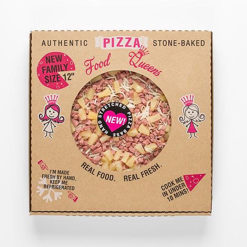 Ham And Pinapple Pizza