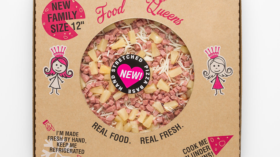 PIZZA - HAM AND PINEAPPLE