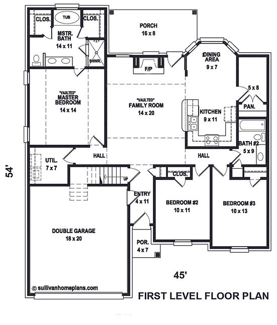 Silverbell floor plan 1st floor Revised