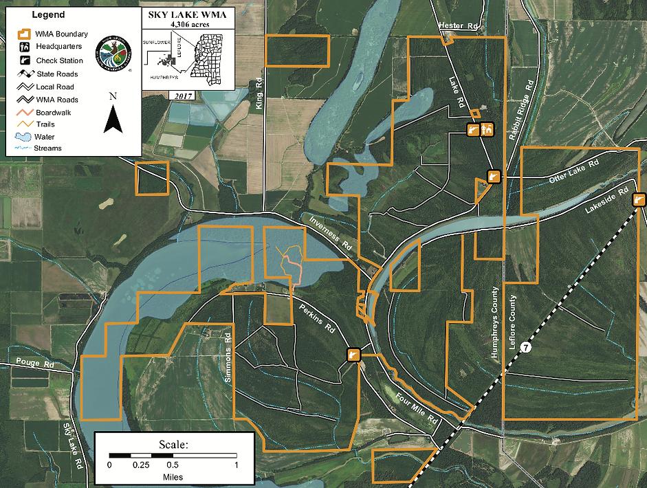 Sky Lake WMA map.png