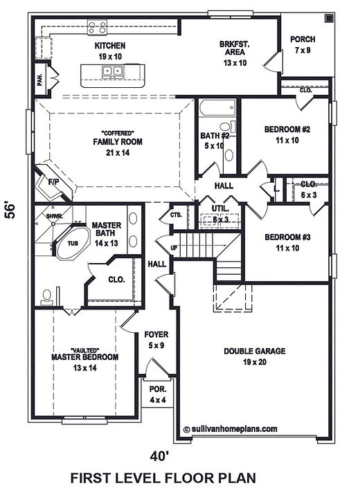 Basswood 1st floor floor plan Revised 20