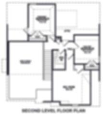 Buckeye floor plan 2nd floor Revised 202