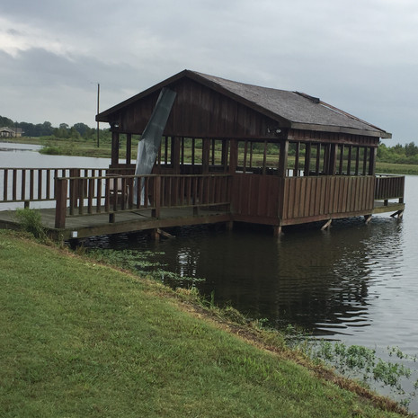Bass Pond Covered Dock