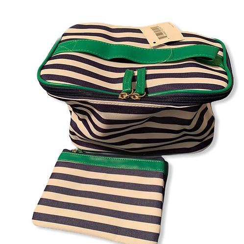 2 Piece Nautical Makeup bag