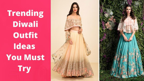 Top 5 Trending Diwali Outfit ideas You Must Try on This Diwali 2020 | The Wanderer India