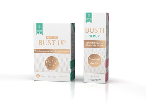Zestaw BUST-UP + BUSTI Serum