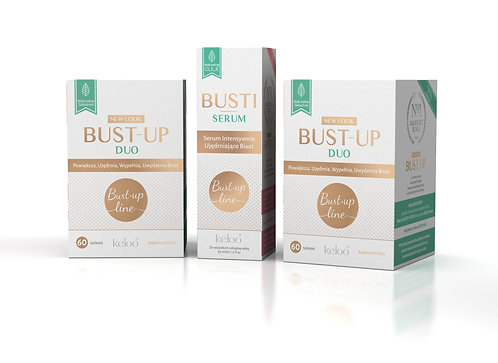 Miesięczna kuracja BUST-UP Line (2 x BUST-UP DUO + BUSTI Serum)