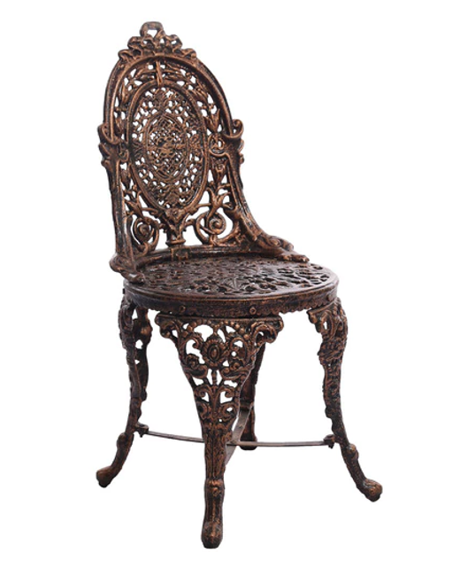 3) Victorian Style Antique Chair by Karara Mujassme - 3 Gorgeous Antique Chairs Available At Pepperfry Home Decor Blog
