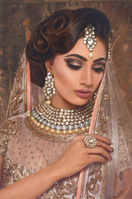 Professional Model styled by Charu Shah