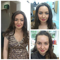 Before and After of a salaon customer - by Charu Shah