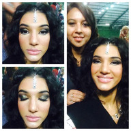 Participant in Miss World bodybuilder 2015 - styled by Charu Shah