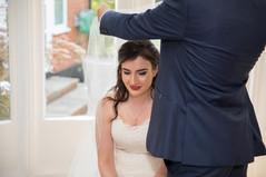 Jewish bride - hair and make up by Charu Shah