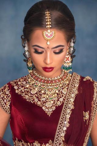 Hair and make up by Charu Shah