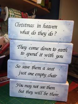 Christmas memorial gift