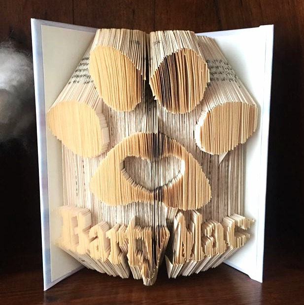 Memorial book fold