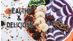 Create Your Own Halloween Smoothie Bowl