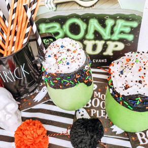 Fun & Spooky Monster Smoothies!