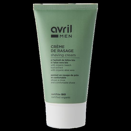 Crème de rasage Homme 150ml – Certifiée bio