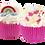 Thumbnail: Maxi cupcake Licorne et Arc en ciel