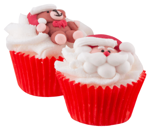Mini Cupcake de Noël