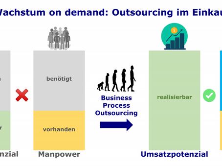Wachstum on demand: Outsourcing im Einkauf