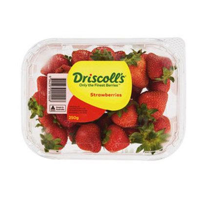 Coles Strawberries Prepacked