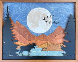 Moose Lake - Blue