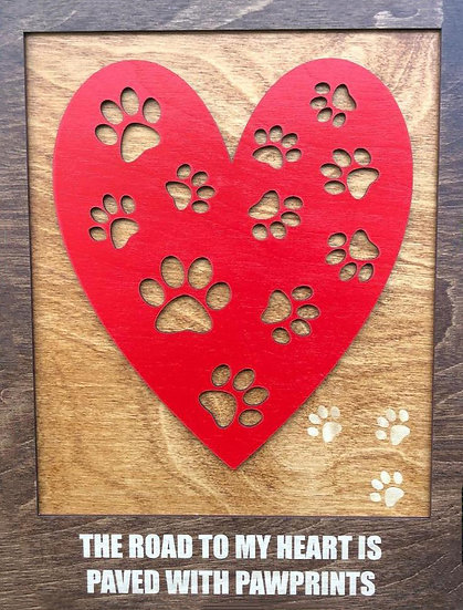"""Pawprints Across My Heart"""