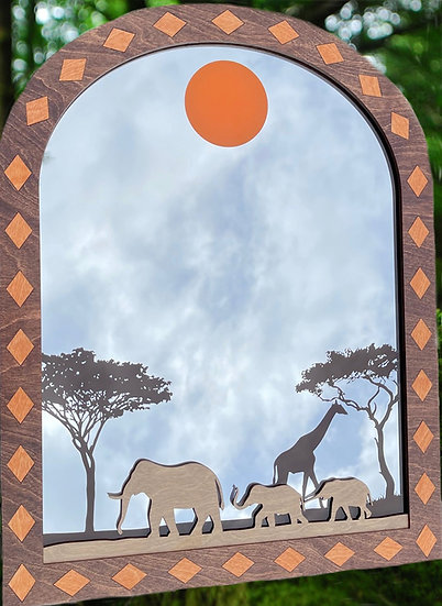 """Serengeti Reflection"""