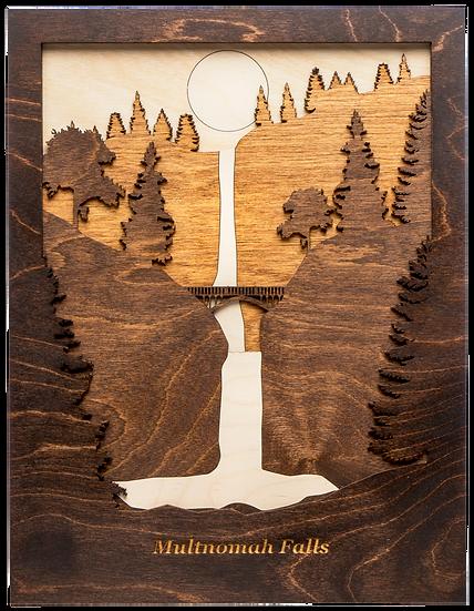 """Multnomah Falls, Oregon"""