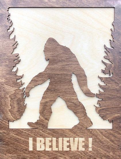 Sasquatch Wall Plaque