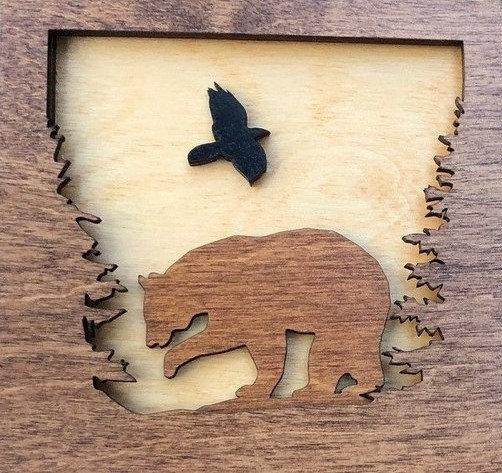 """""""Bear in Woods"""""""