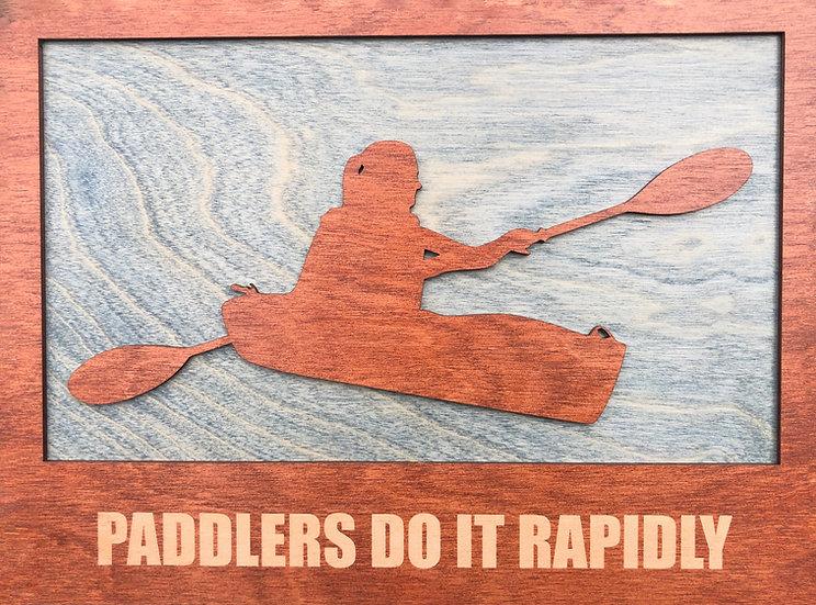 """Kayaker Plaque"""