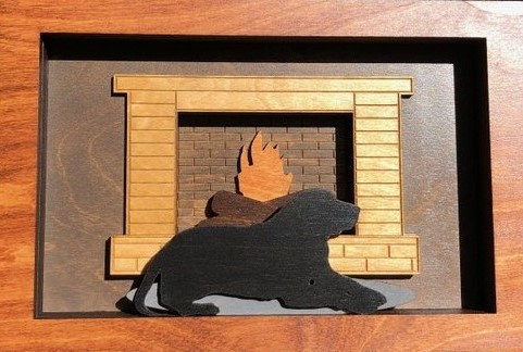 """Warming by the Hearth"""