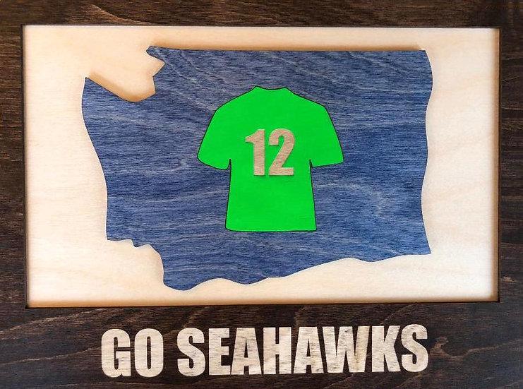 Seattle Seahawks Wall Plaque